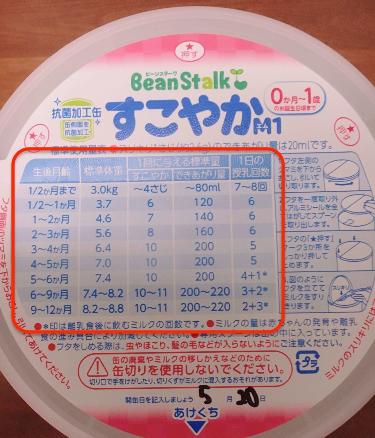 ミルク作り